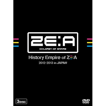 ZE:A History Empire of ZE:A 2012-2013 in JAPAN/ZE:A