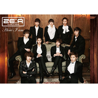 「Here I am」(Type-B)CD+DVD/ZE:A