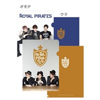 【2nd LIVE】クリアファイル/ROYAL PIRATES