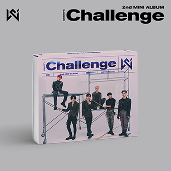 2nd Mini Album「IDENTITY:Challenge」Type-B (Nothing ver. ) / WEi (ウィーアイ)