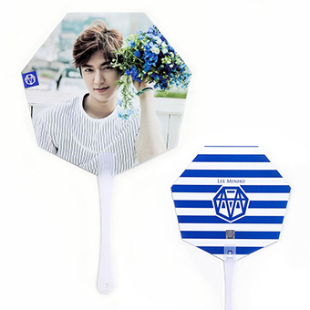 【MINOZ OFFICIAL GOODS】うちわ(BLUE) / イ・ミンホ