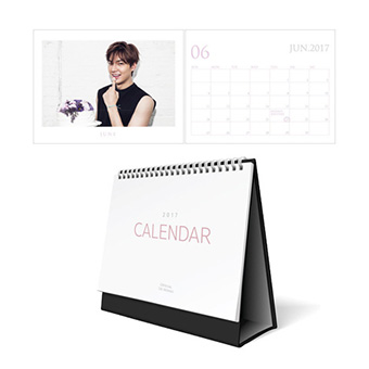 【MINOZ OFFICIAL GOODS】2017 DESK CALENDAR / イ・ミンホ