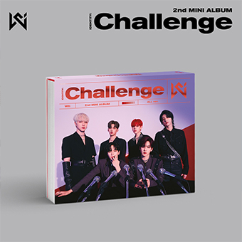 2nd Mini Album「IDENTITY:Challenge」Type-A (All ver.) / WEi (ウィーアイ)
